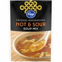 Kroger® Chinese Inspirations  Hot & Sour Soup Mix Packet