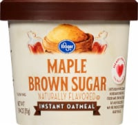 Kroger® Maple Brown Sugar Instant Oatmeal