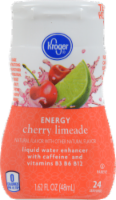 Kroger® Cherry Limeade Energy Liquid Water Enhancer
