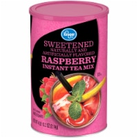 Kroger®  Sweetened Raspberry Instant Iced Tea Mix Canister