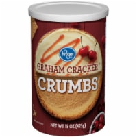 Kroger®  Graham Cracker Crumbs Canister