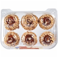 Kroger® Caramel Apples with Peanuts - 6 ct / 24 oz