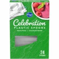 Kroger® Celebration Clear Plastic Spoons