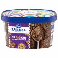 Kroger® Deluxe Brookie Ice Cream