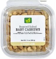 Petite Roasted Salted Baby Cashews