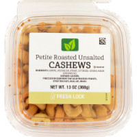 Petite Roasted Unsalted Cashews
