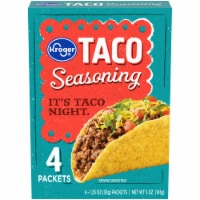 Kroger® Taco Seasoning Packets 4 Count