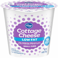 Kroger® 2% Low Fat Small Curd Cottage Cheese
