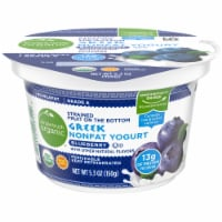 Simple Truth Organic™ Strained Blueberry Greek Nonfat Yogurt