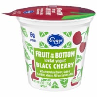 Kroger® Black Cherry Fruit on the Bottom Lowfat Yogurt