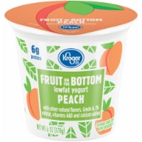 Kroger® Peach Fruit on the Bottom Lowfat Yogurt