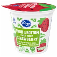 Kroger® Strawberry Fruit on the Bottom Lowfat Yogurt