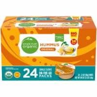 Simple Truth Organic™ Original Hummus 24-2.1 oz Packs
