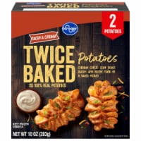 Kroger® Bacon & Cheddar Twice Baked Potatoes 2 Count Box