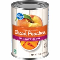 Kroger® Sliced Yellow Cling Peaches in Heavy Syrup