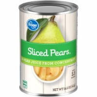 Kroger® Sliced Pears in Pear Juice from Concentrate