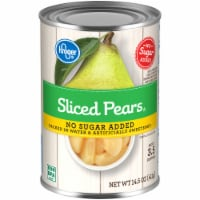 Kroger® No Sugar Added Sliced Pears