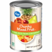 Kroger® Chunky Mixed Fruit in Pear Juice - 15 oz