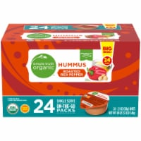 Simple Truth Organic™ Roasted Red Pepper Hummus On-the-Go Packs