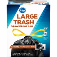 Kroger® Draw String Trash Bags 30 Gal