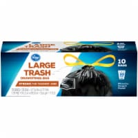 Kroger®  Large 30 Gal Trash Drawstring Bag 10 Ct Box