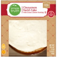 Simple Truth™ Cinnamon Swirl Cake with Cream Cheese Frosting