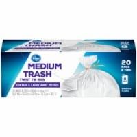 Kroger®  Medium 8 Gallon Twist Tie Trash Bags