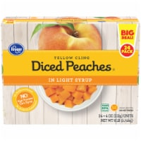 Kroger® Diced Peaches Fruit Cups