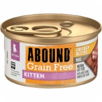Abound® Grain Free Chicken Recipe Pate Kitten Food