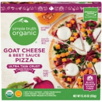 Simple Truth Organic™ Goat Cheese & Beet Sauce Ultra Thin Crust Pizza