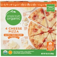 Simple Truth Organic™ 4 Cheese Ultra-Thin Crust Pizza