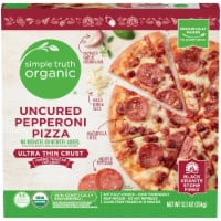 Simple Truth Organic™ Uncured Pepperoni Ultra Thin Crust Pizza Box