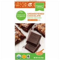 Simple Truth Organic™ Unsweetened Chocolate Baking Squares - 4 oz