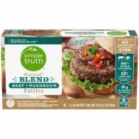 Simple Truth® Natural Blend Beef + Mushroom Patties