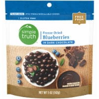 Simple Truth™ Freeze-Dried Blueberries in Dark Chocolate Pouch