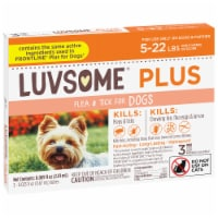 Luvsome Plus Flea & Tick Dog 5-22 lbs - 3 ct