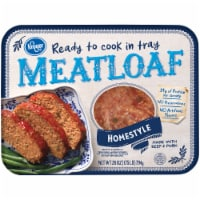 Kroger® Homestyle Ready to Cook in Tray Meatloaf