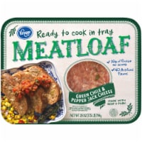 Kroger® Green Chile & Pepper Jack Cheese Ready to Cook in Tray Meatloaf