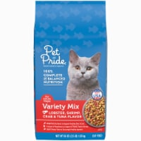 Pet Pride® Seafood Variety Mix Dry Cat Food