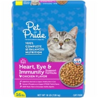 Pet Pride® Chicken Flavor Heart Eye & Immunity Support Formula Dry Cat Food