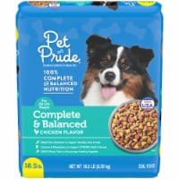 Pet Pride™ Complete & Balanced Chicken Flavor Dog Food