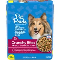 Pet Pride Steak & Vegetable Crunchy Bites Adult Dry Dog Food
