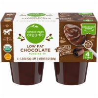 Simple Truth Organic™ Low Fat Chocolate Pudding