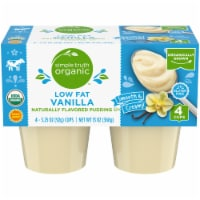 Simple Truth Organic™ Low Fat Vanilla Naturally Flavored Pudding