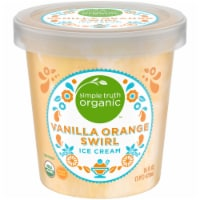 Simple Truth Organic™ Vanilla Orange Swirl Ice Cream