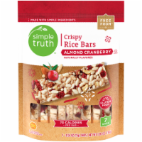 Simple Truth™ Almond Cranberry Rice Bars 7-.56 oz Pack