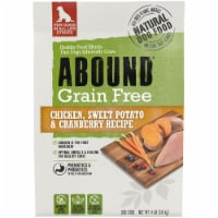 Abound Grain Free Chicken Sweet Potato & Cranberry Recipe Adult Dog Food
