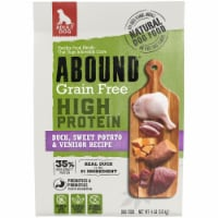 Abound Grain Free High Protein Duck Sweet Potato & Venison Recipe Adult Dog Food