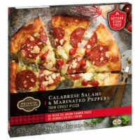 Private Selection™ Calabrese Salami & Marinated Peppers Thin Crust Pizza