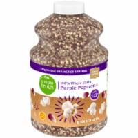 Simple Truth™ 100% Whole Grain Purple Popcorn Jar